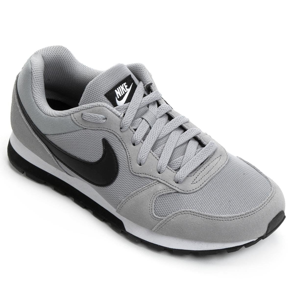 finest selection ed442 4c8b9 Tênis Nike Md Runner 2 Masculino - Cinza e Preto   Loja do Inter