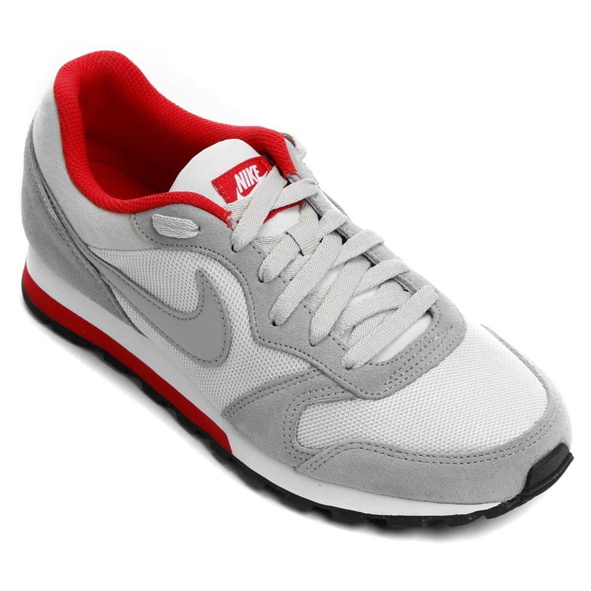 Tênis Nike Md Runner 2 Masculino - Cinza e Vermelho - Compre Agora ... 9caf5474c6ce1