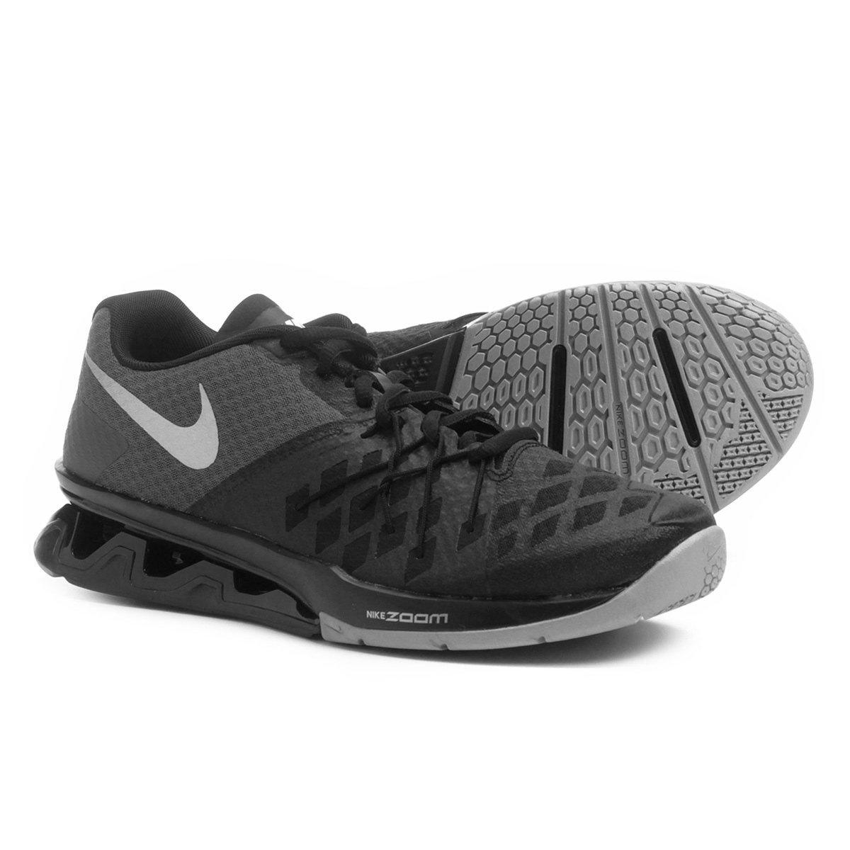 fd89afd9fa6 Tênis Nike Reax Lightspeed 2 Masculino - Preto e Prata - Compre Agora