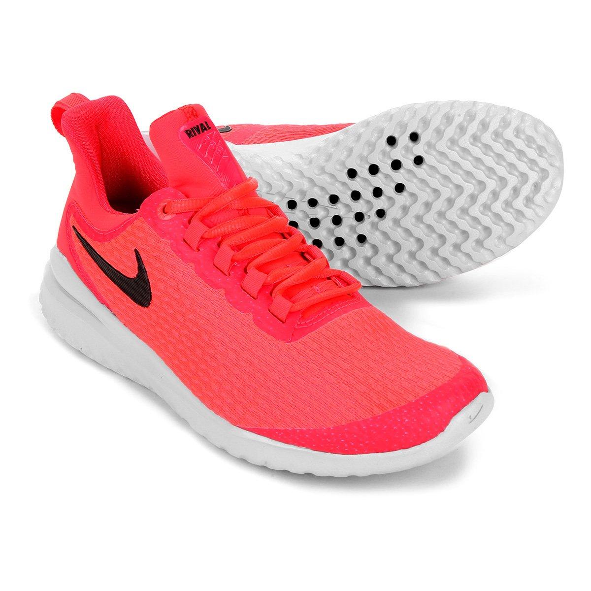 347ea33299 Tênis Nike Renew Rival Feminino - Vermelho e Preto - Compre Agora ...