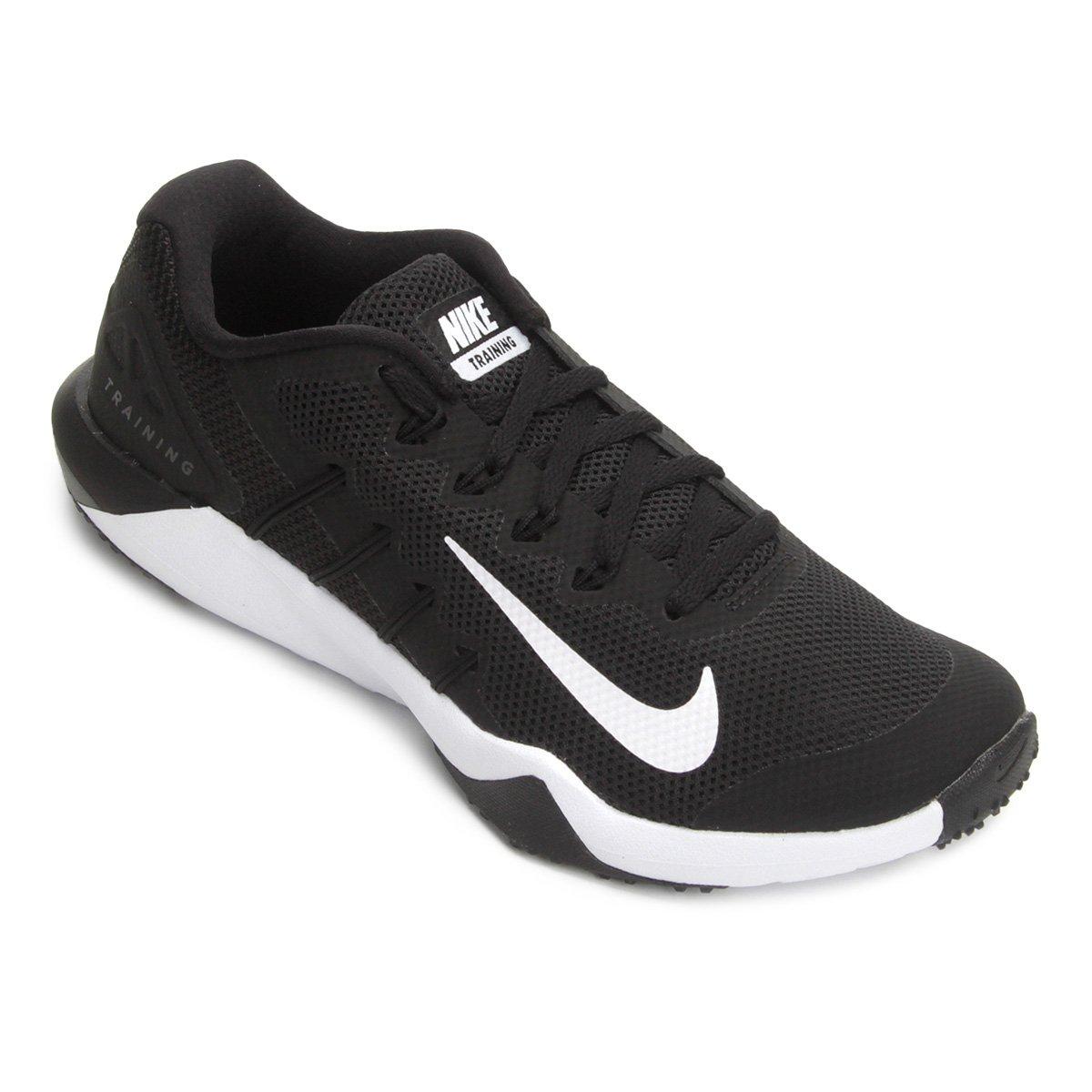 eaa3e975bc51c Tênis Nike Retaliation Tr 2 Masculino - Preto e Branco - Compre Agora