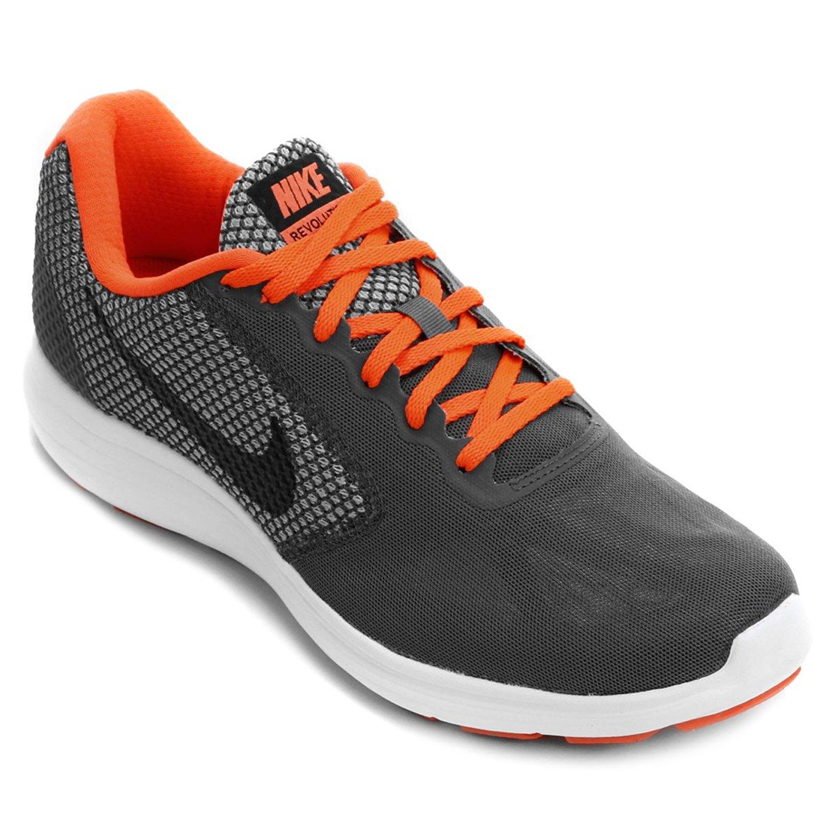 Tênis Nike Revolution 3 Masculino - Compre Agora  3e780de9139bf