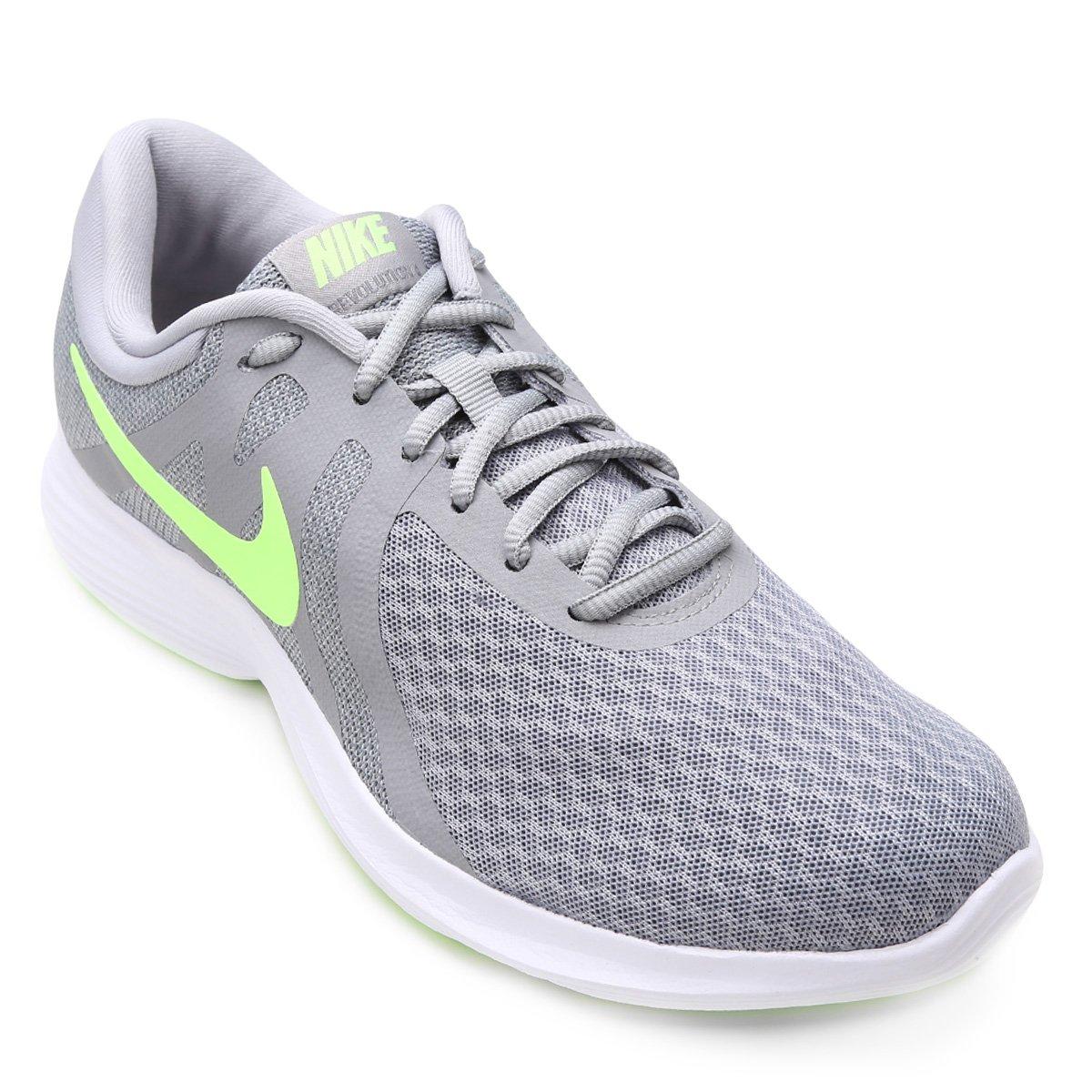 ac0b2169533381 Tênis Nike Revolution 4 Masculino - Cinza   Loja do Inter