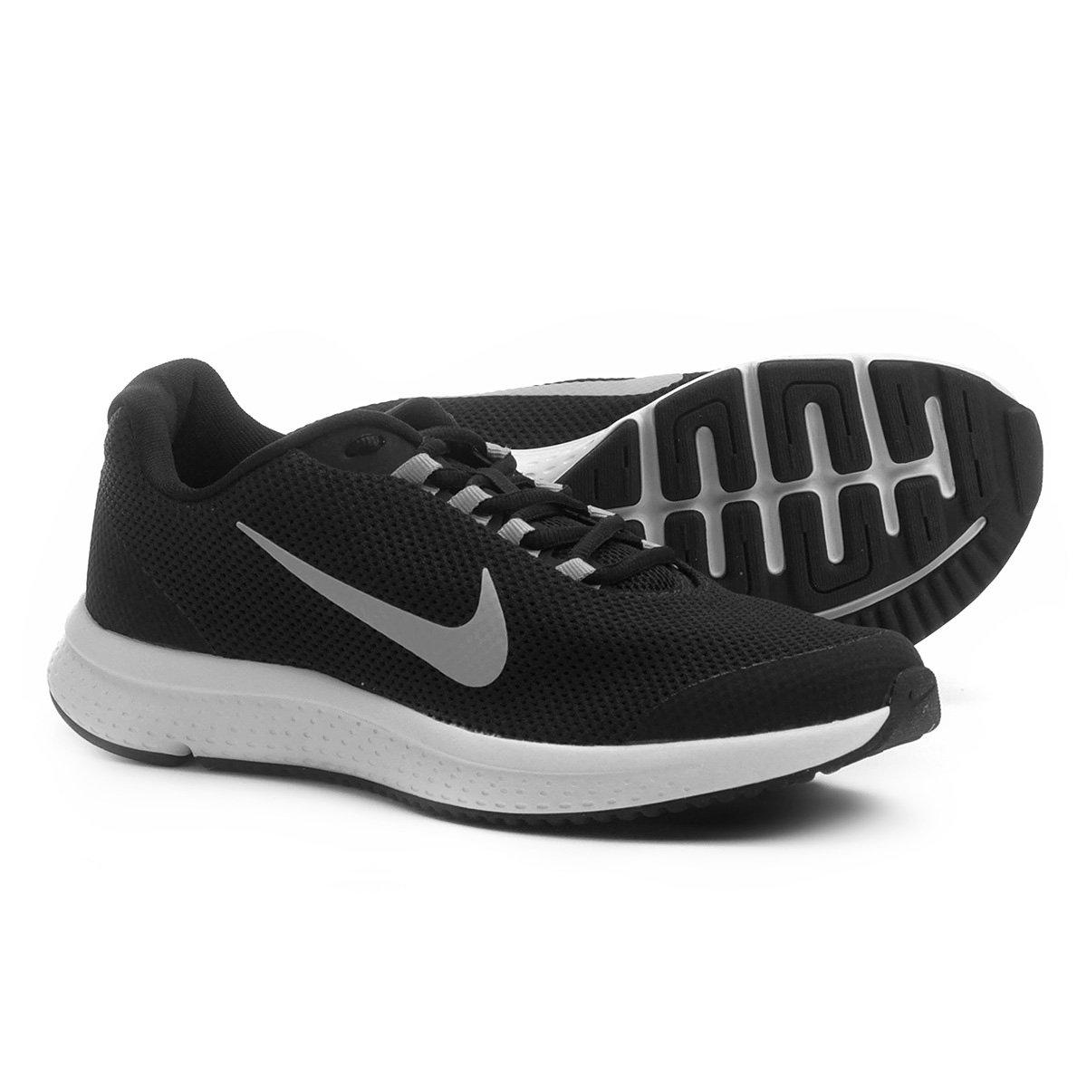 5450ec5f135 Tênis Nike Runallday Masculino - Preto e Branco - Compre Agora ...
