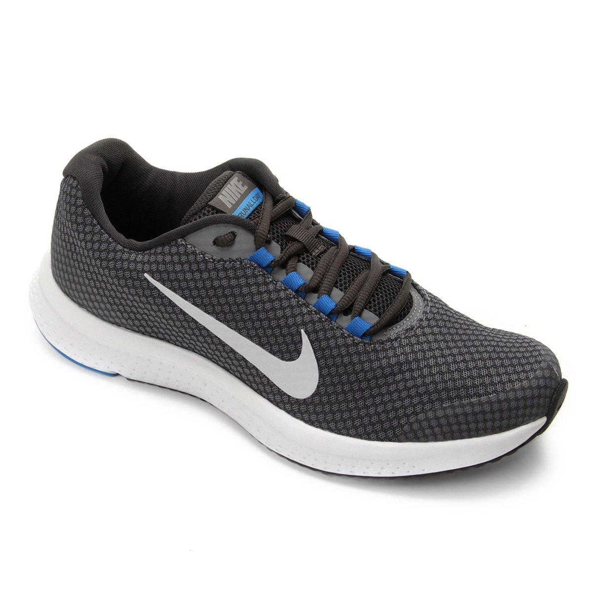 d59201e7af2 Tênis Nike Runallday Masculino - Preto e Prata - Compre Agora