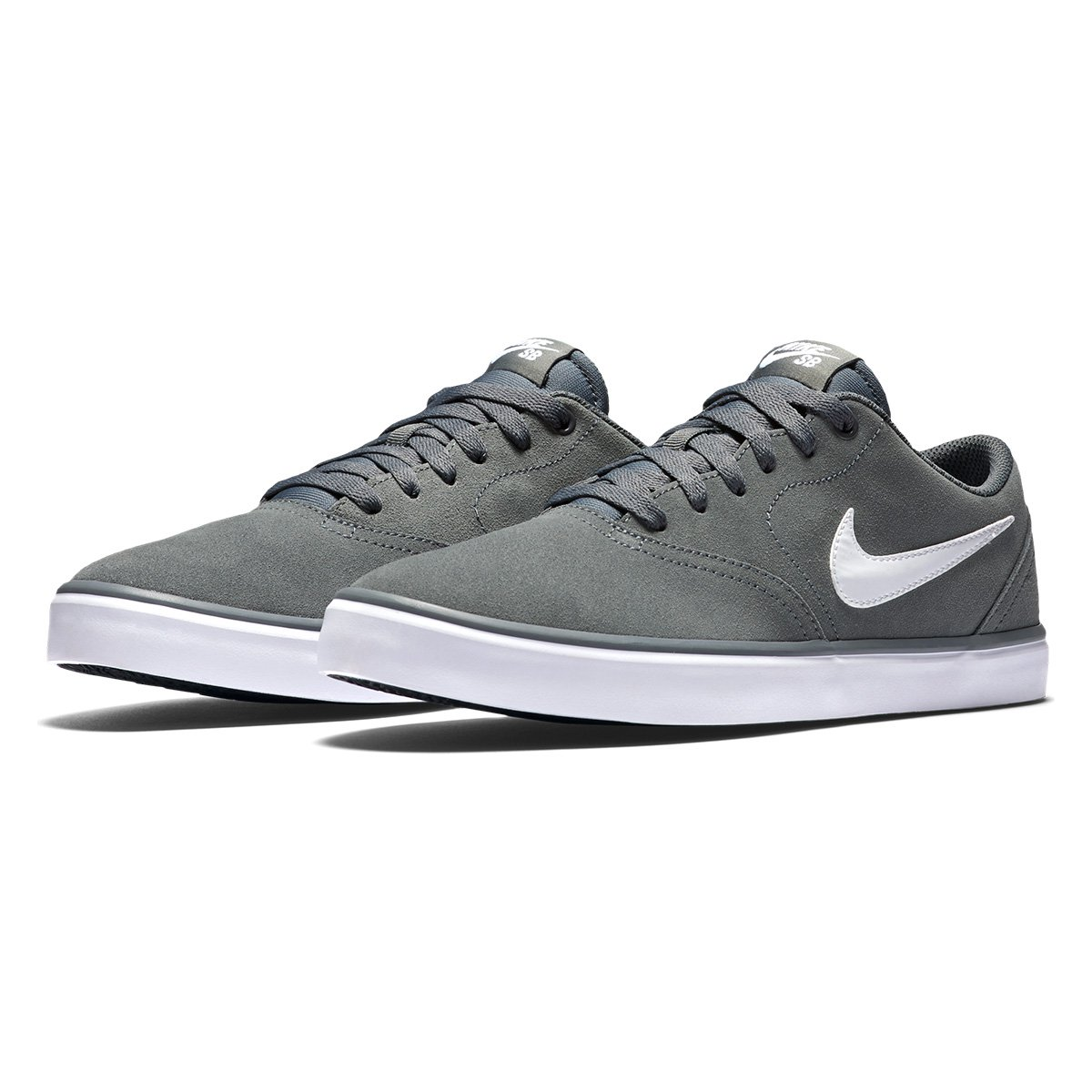 5d108a261c8d67  Tênis Nike Sb Check Solar Masculino - Cinza - Compre Agora  Loja do . f716d409f7ee1