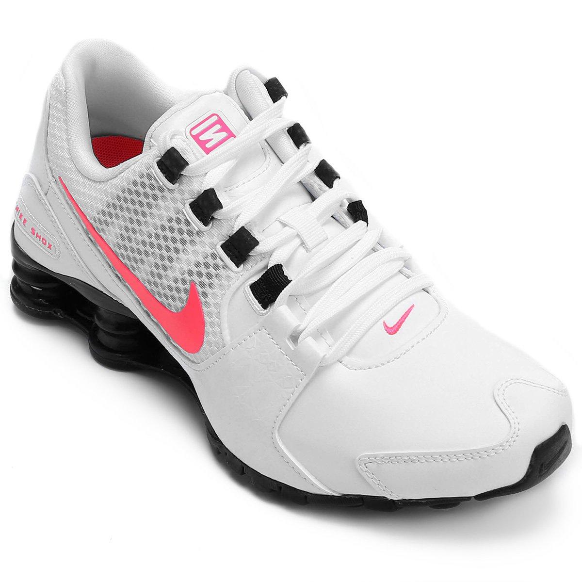 b1d44425cbb Carregando zoom. Tênis Nike Shox Avenue Se Feminino - Branco ...