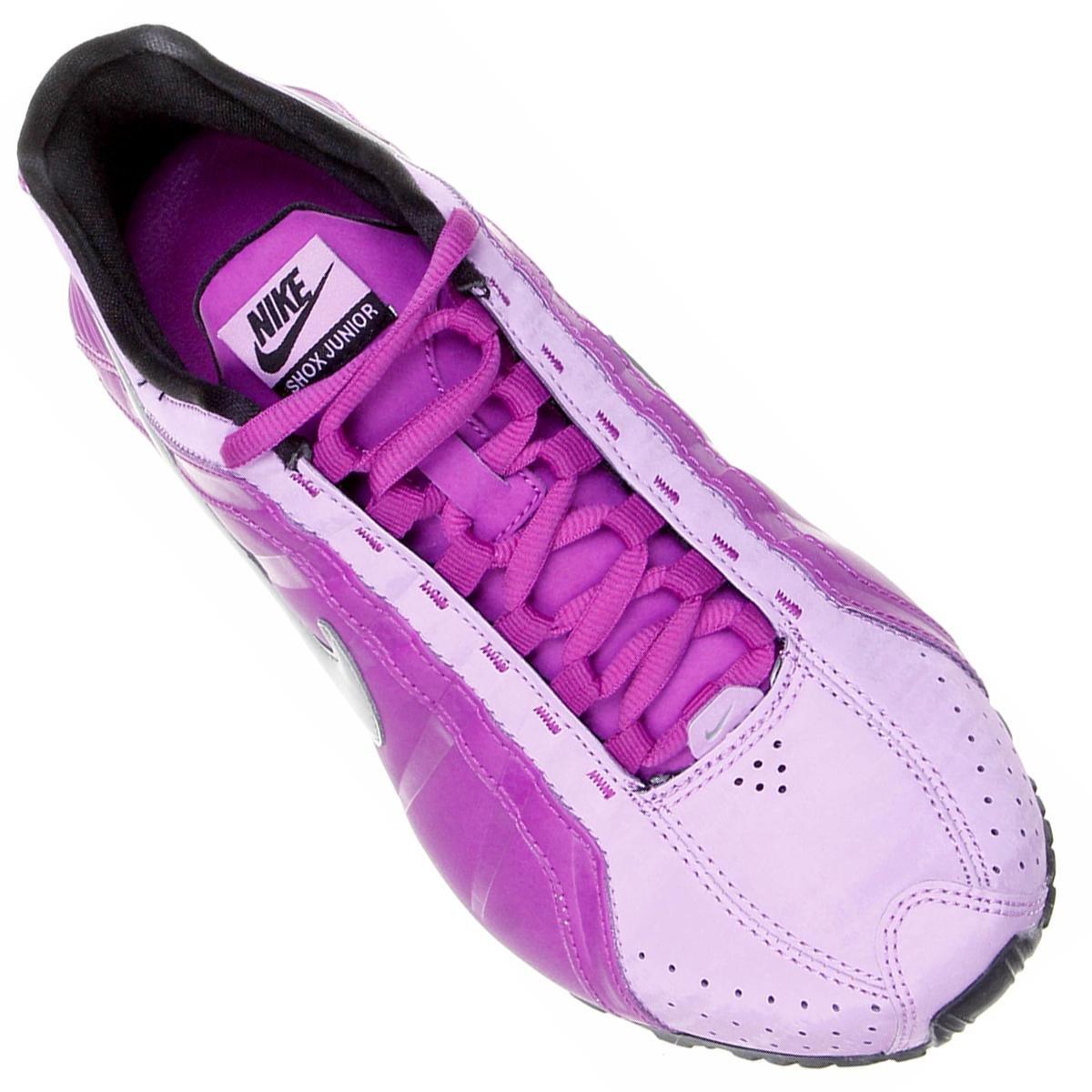 3eec208a150112 ... best price tênis nike shox junior roxo e lilás 3bd2d 2c3d7