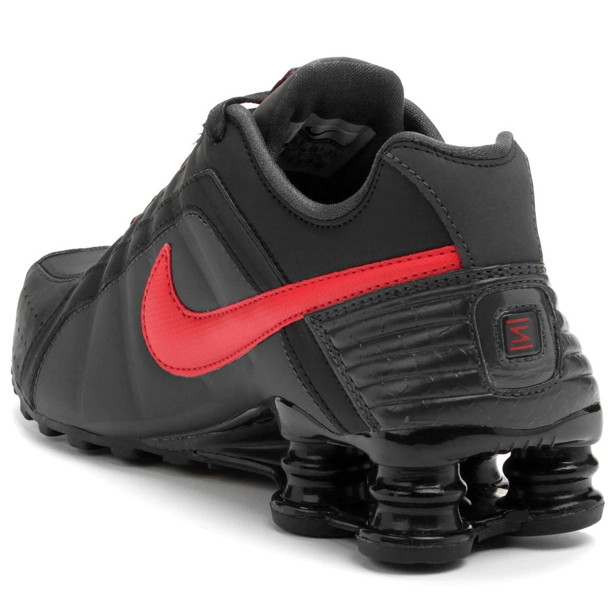 ... Tênis Nike Shox Junior - Chumbo e Vinho ... c816c73d32660