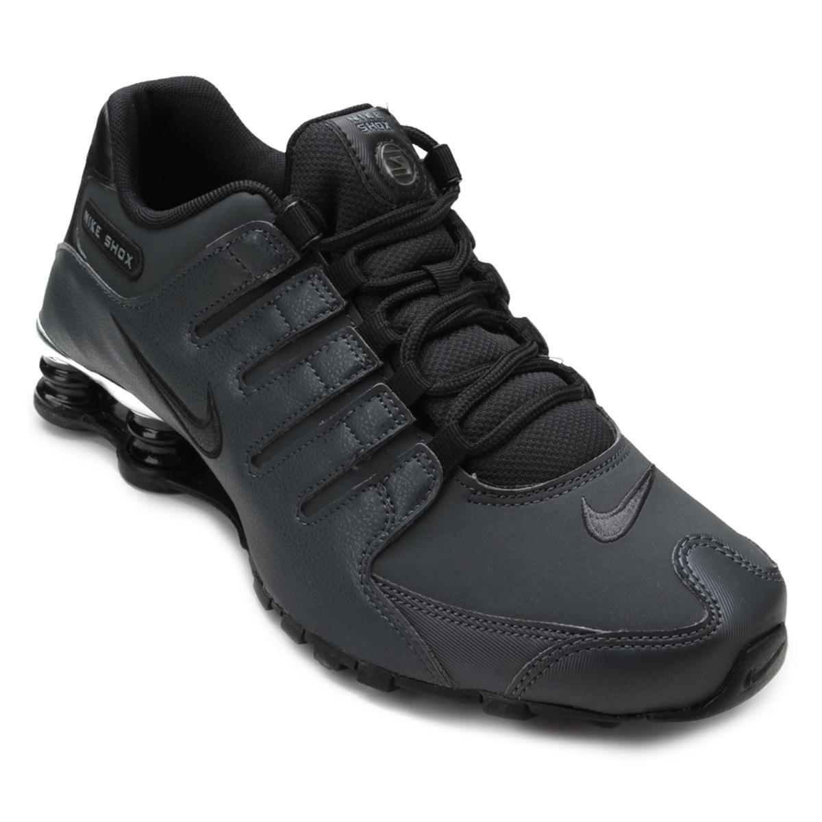 1eddd15292c Tênis Nike Shox Nz Prm Masculino - Preto e Cinza - Compre Agora ...