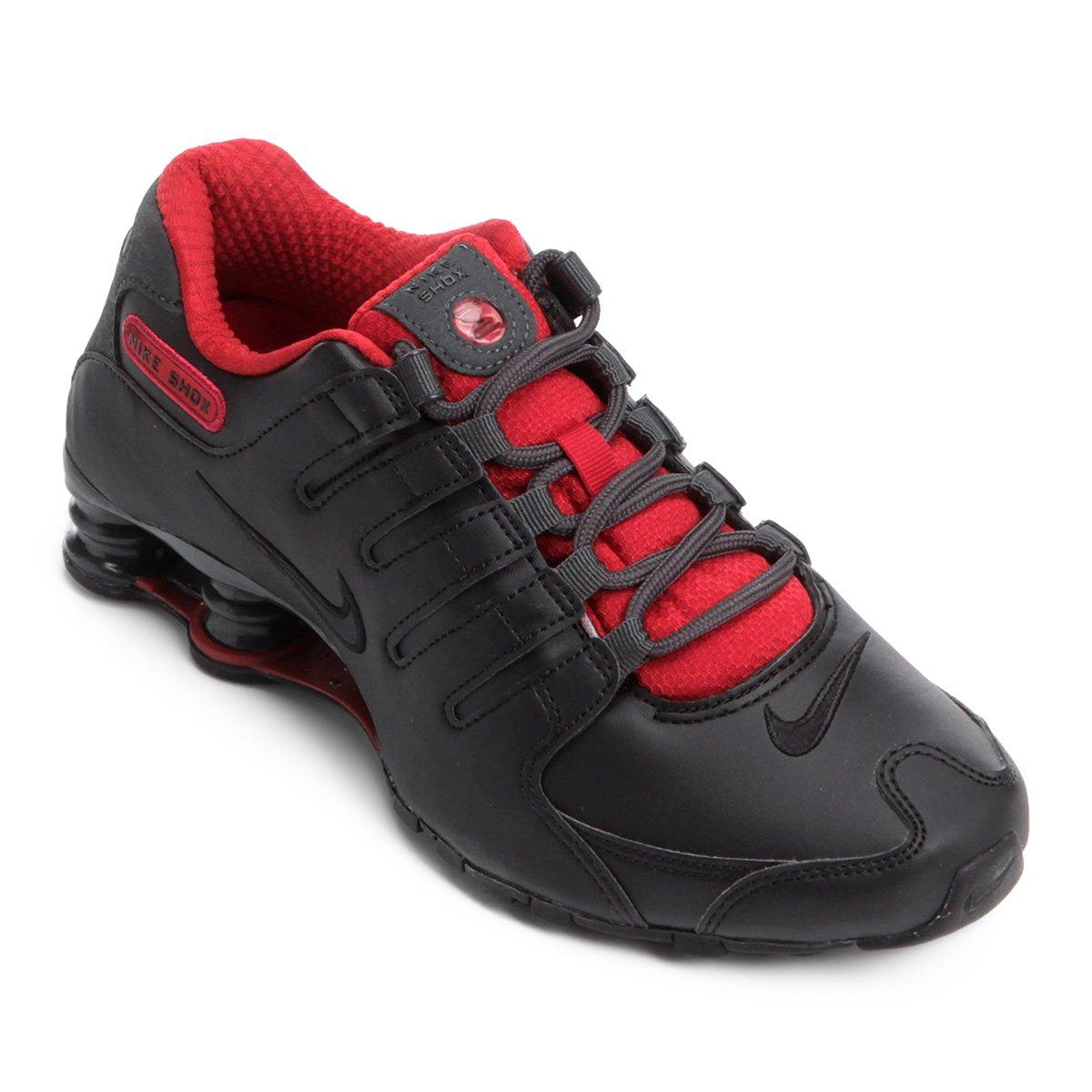 Tênis Nike Shox Nz Se - Preto e Vermelho - Compre Agora  1172d48361b2