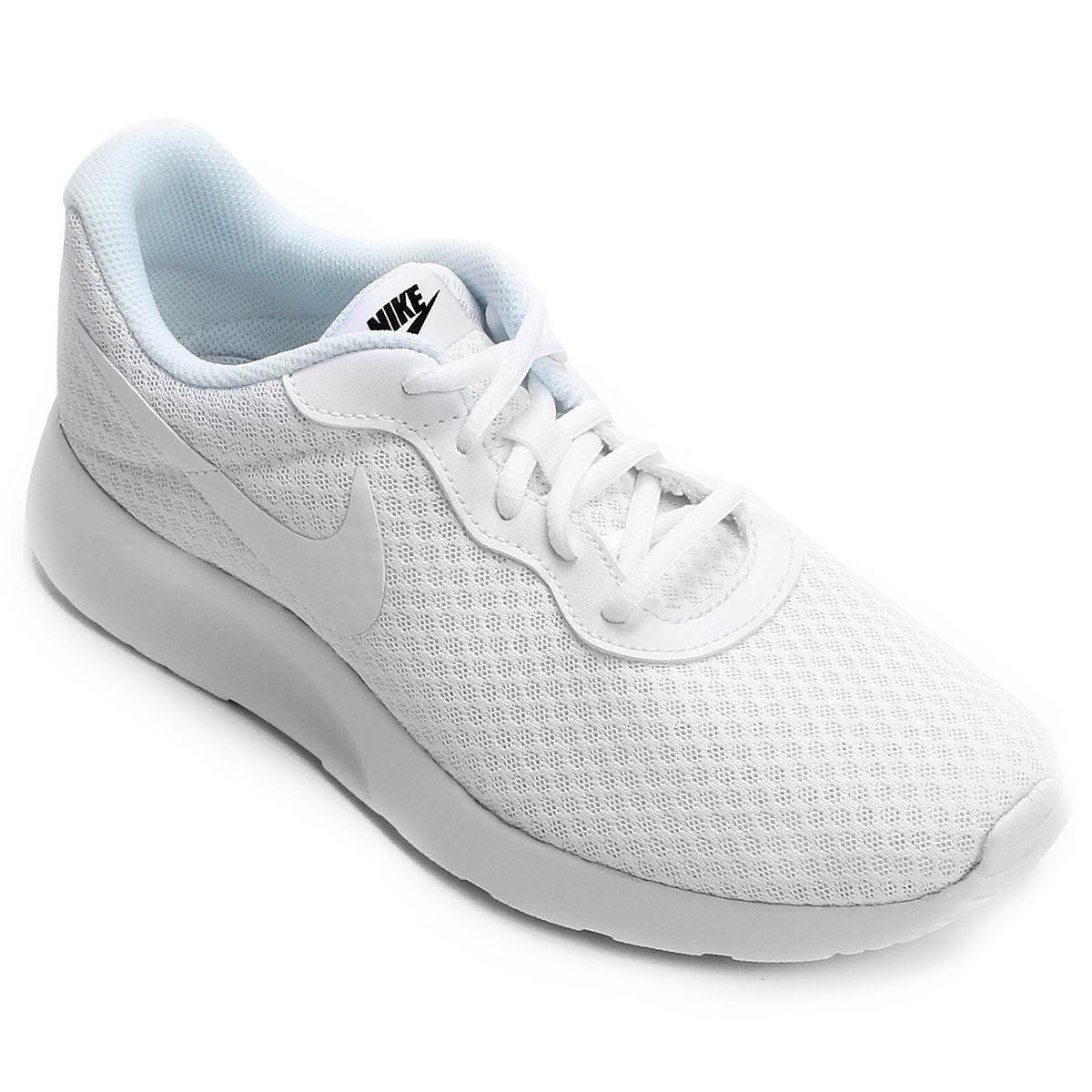 2a3cd5be7 Tênis Nike Tanjun Masculino - Branco e Preto - Compre Agora
