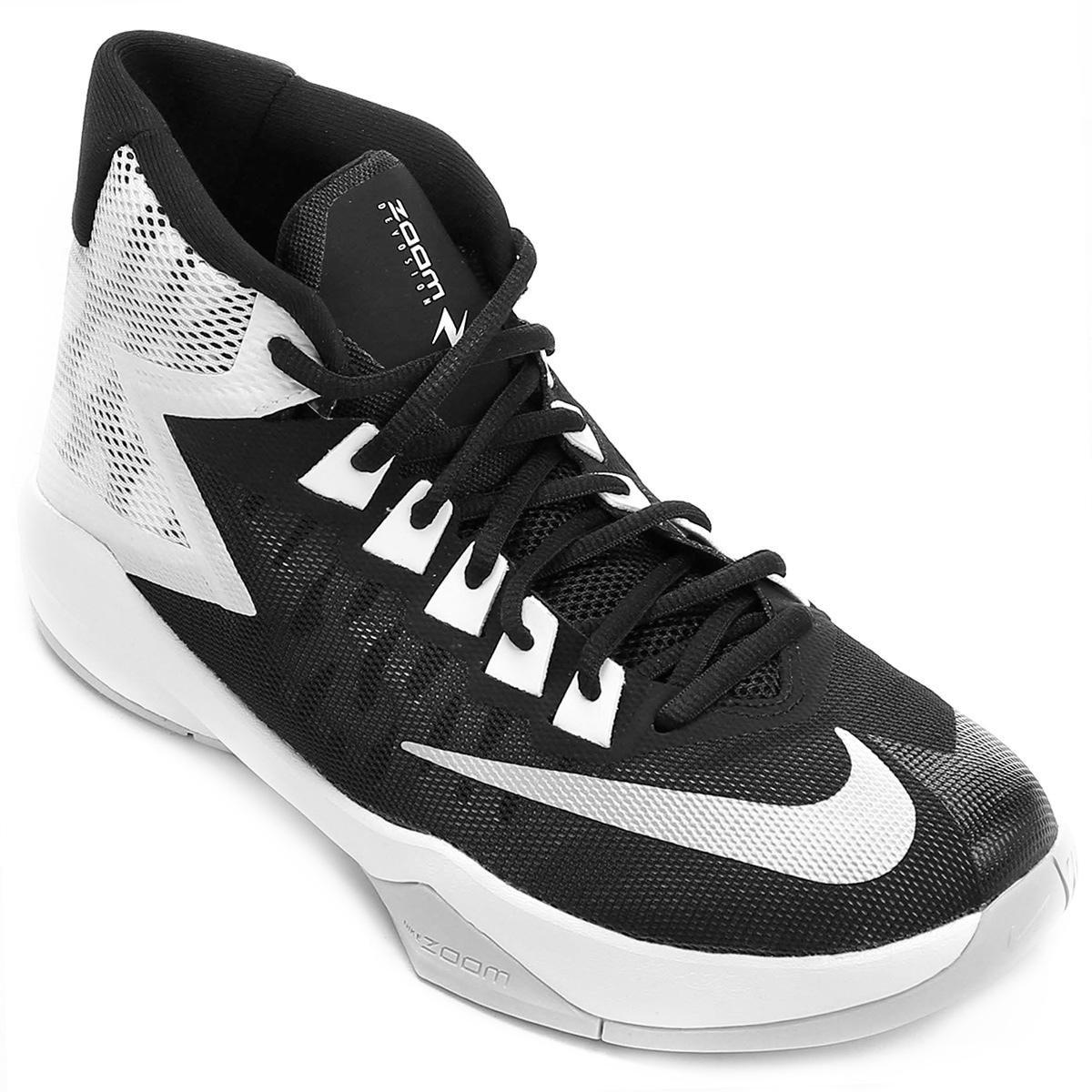 316894e5a2c Tênis Nike Zoom Devosion - Prata e Preto - Compre Agora