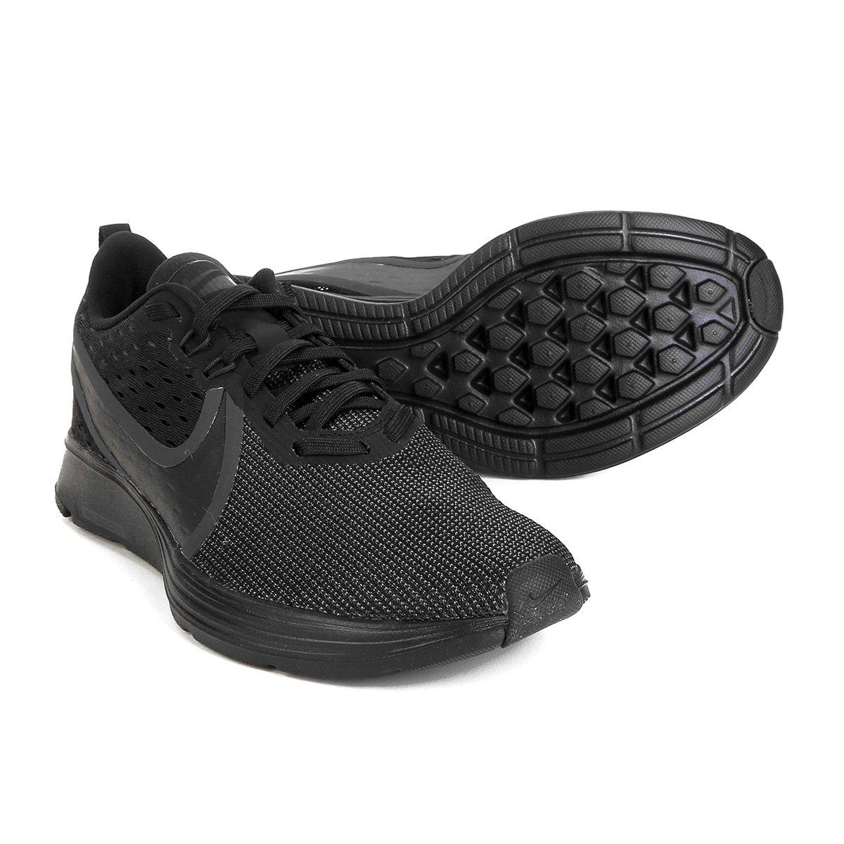 3dbf9c0e84e8e Tênis Nike Zoom Strike 2 Feminino - Preto - Compre Agora