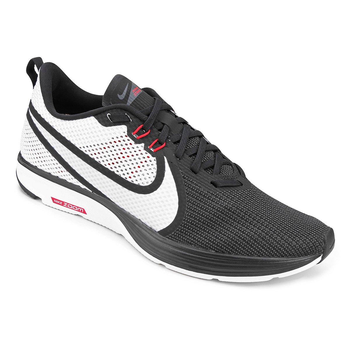new arrival 15965 7ba93 Tênis Nike Zoom Strike 2 Masculino - Preto e Gelo - Compre Agora   Loja do  Inter