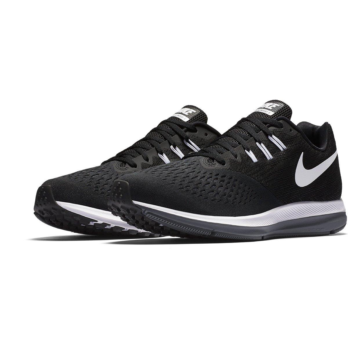 8b5f809c3e Tênis Nike Zoom Winflo 4 Masculino - Preto e Branco - Compre Agora ...
