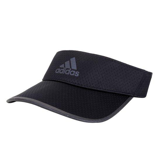 Viseira Adidas Running Aeroready - Preto