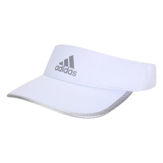 Viseira Adidas Running Aeroready - Branco